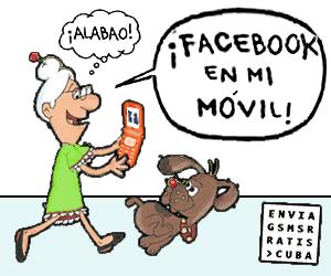 Chuncha ya tiene Facebook en su móvil